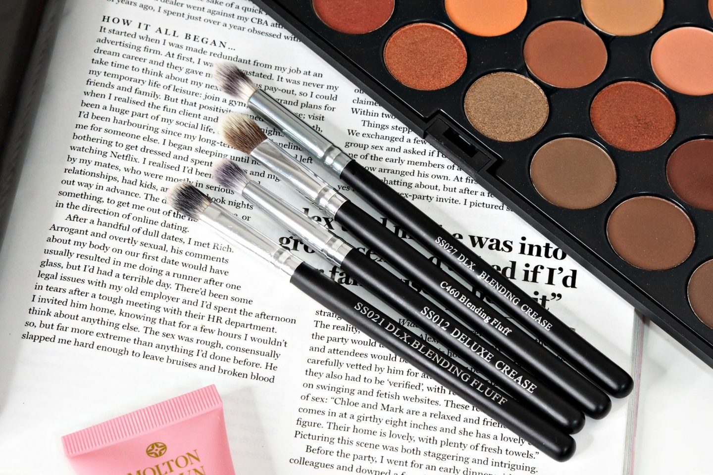 Crown Synthetic Makeup Brushes