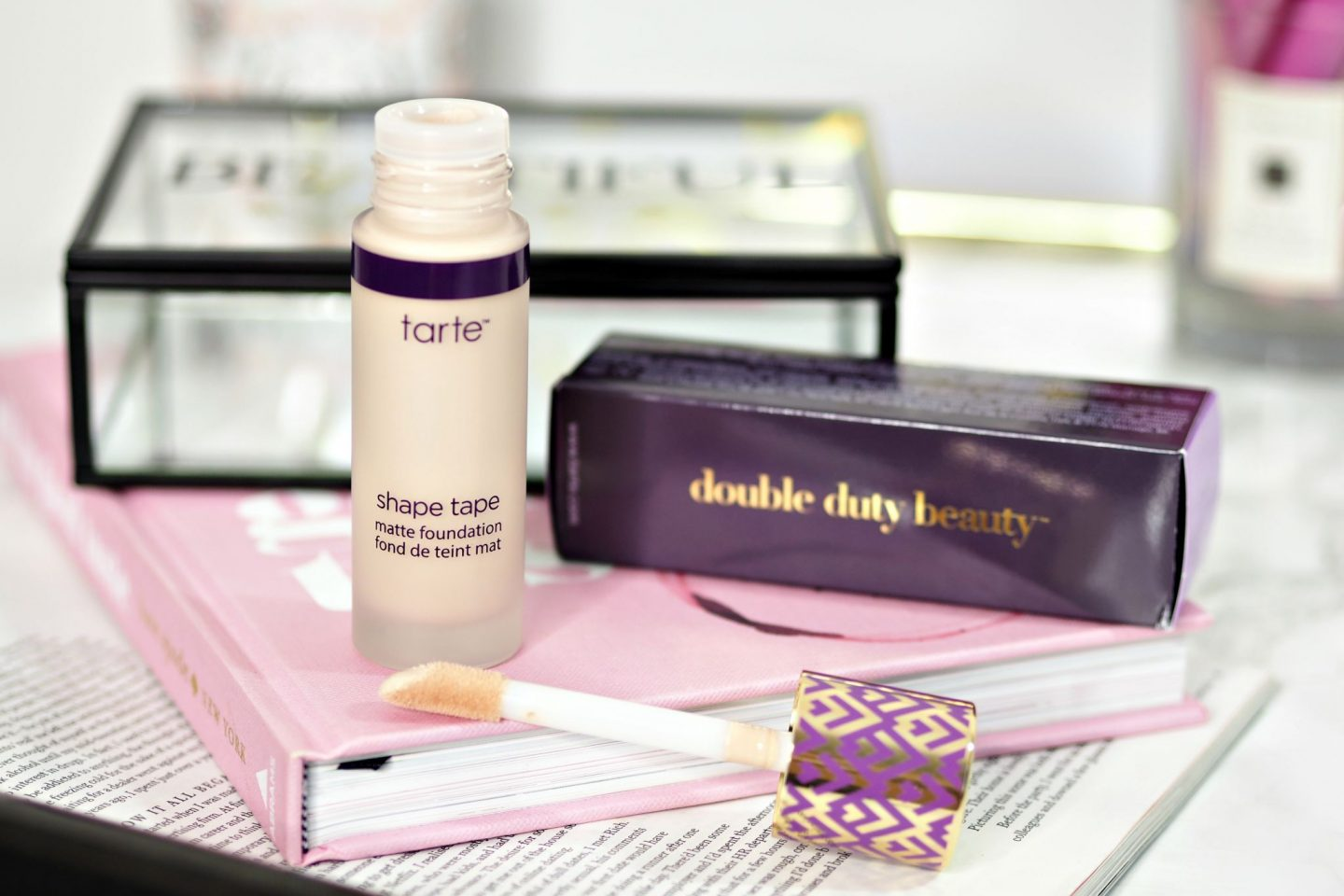 Tarte Shape Tape Foundation review and swatches