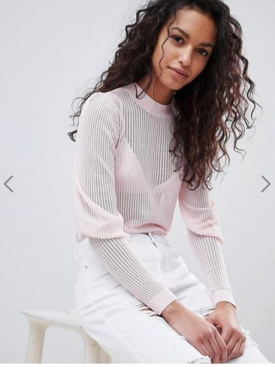 Y.A.S Puff Sleeve Lightweight Knit