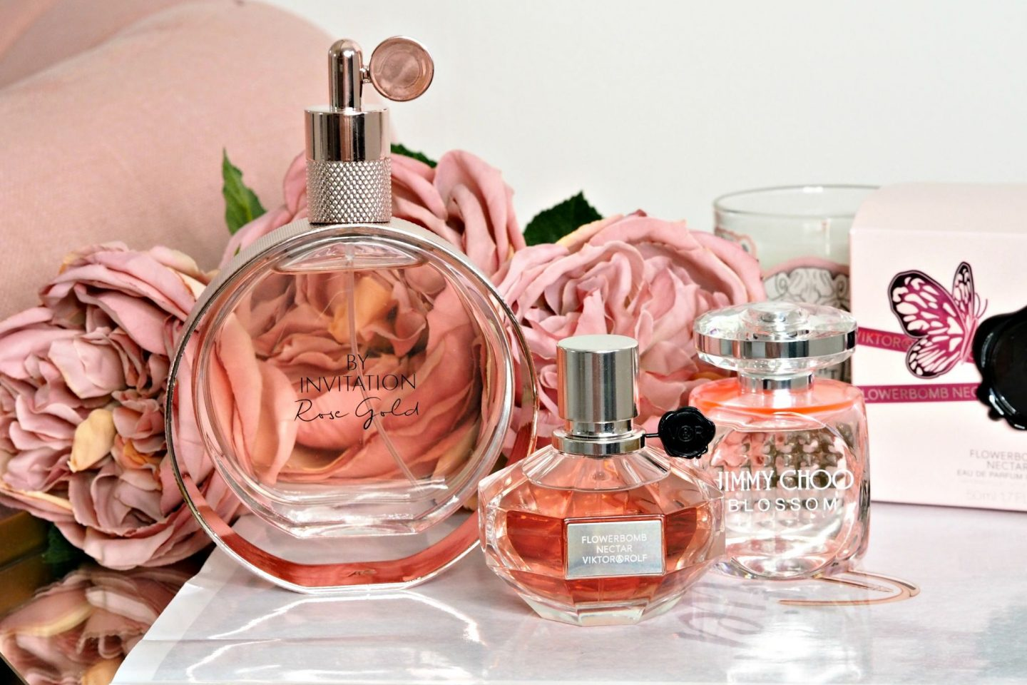 NEW IN: Pretty Pink Fragrances