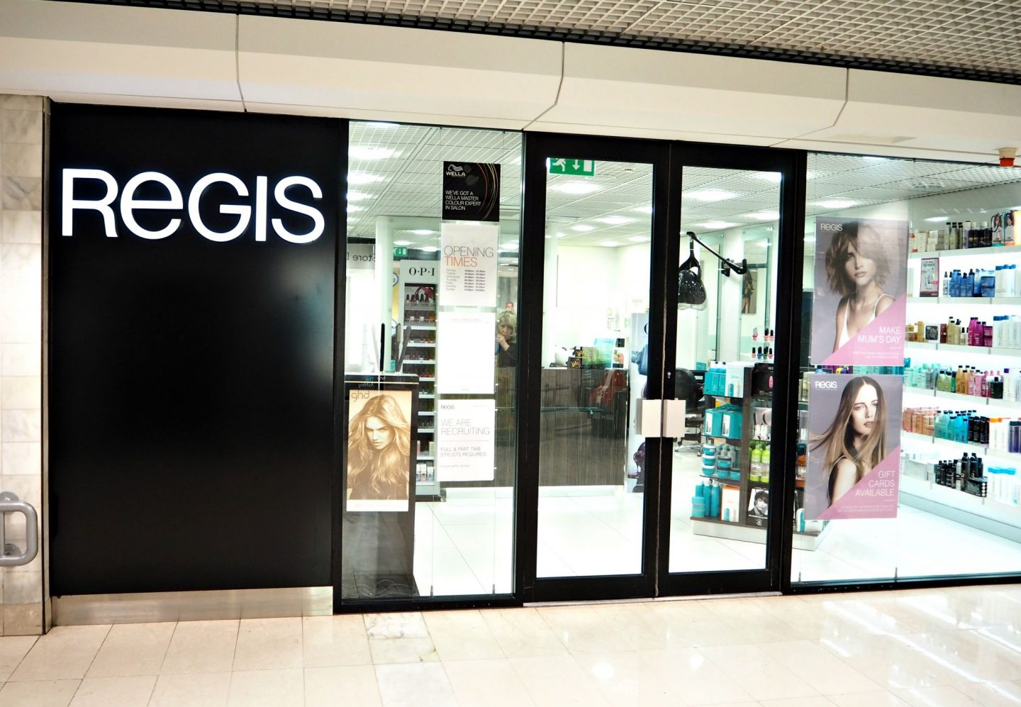 Regis hair salon in Epsom