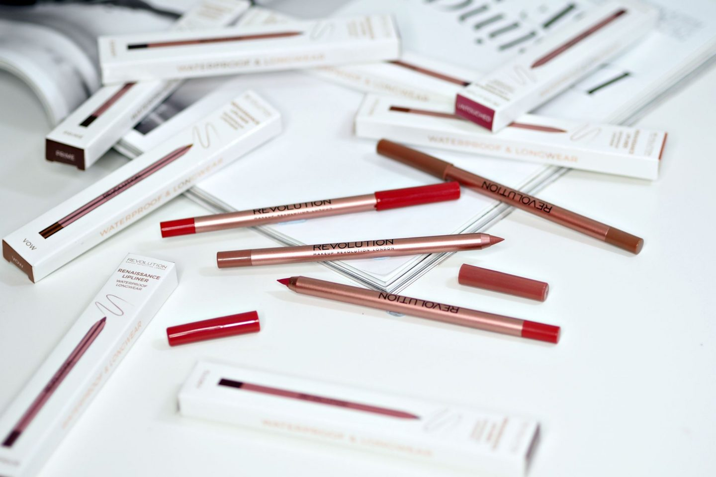 Makeup Revolution Renaissance Lip Liners