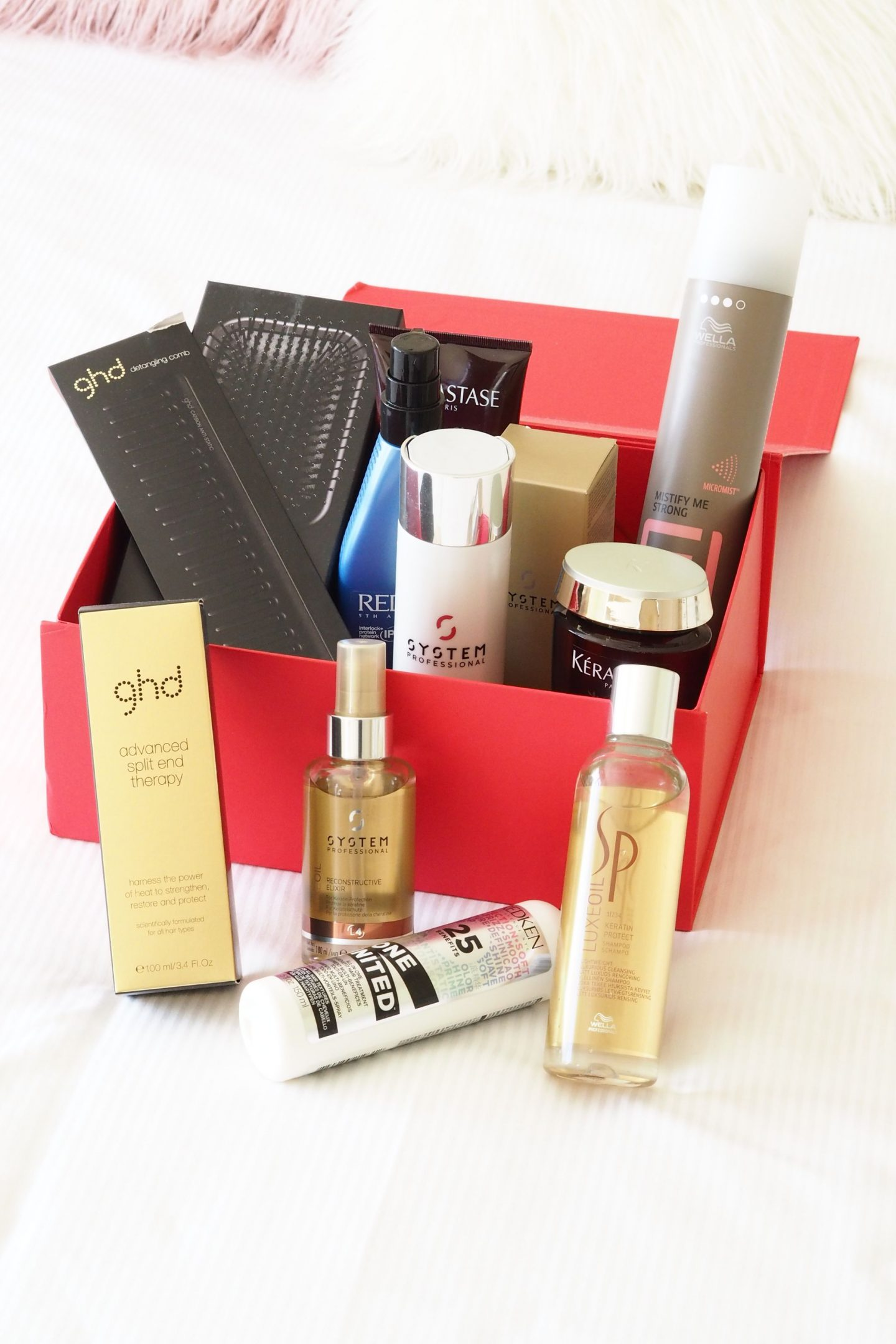 GHD, Wella, Redken and Keratase products sold by Regis hair salons