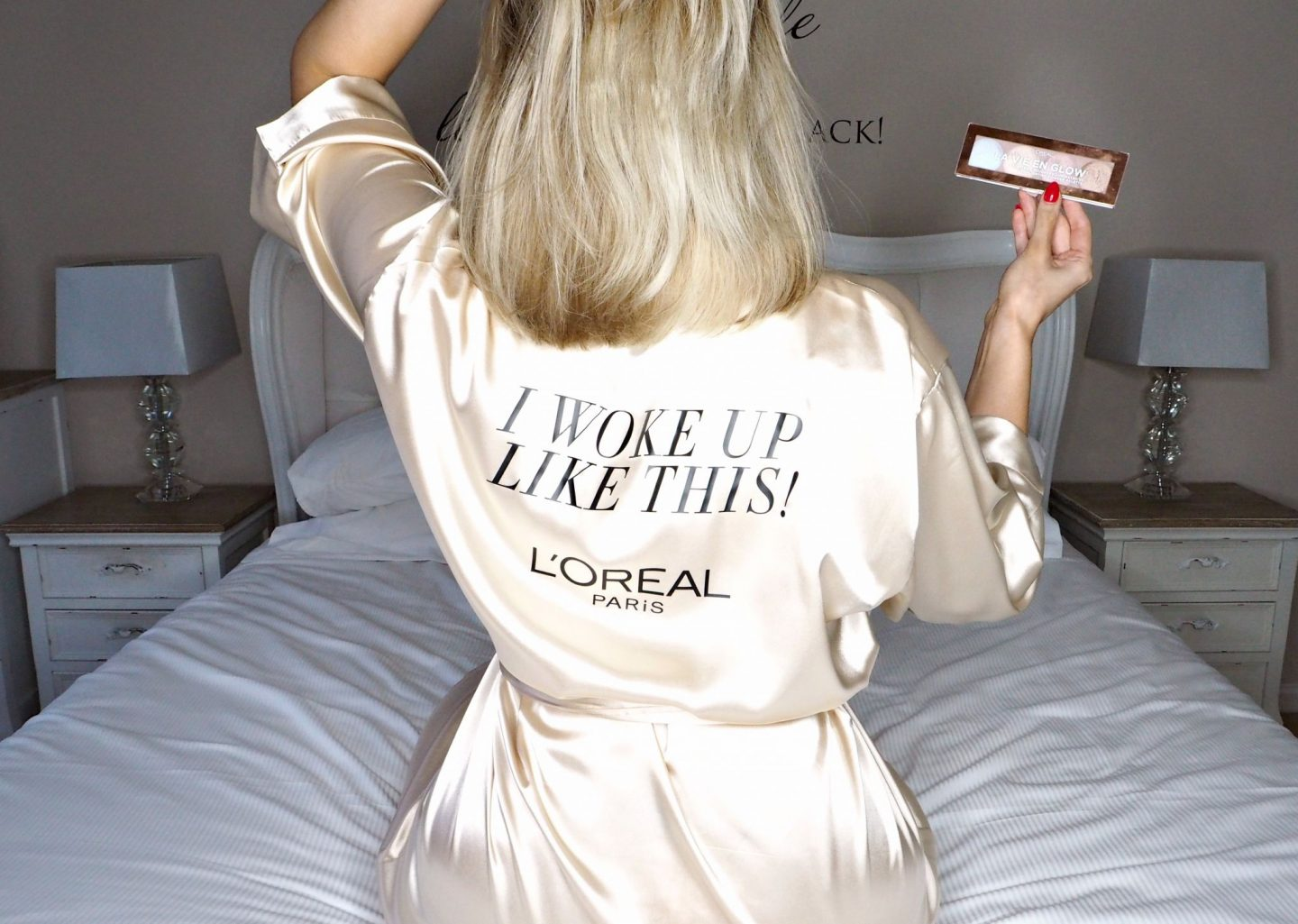 L'Oreal - I woke up like this robe