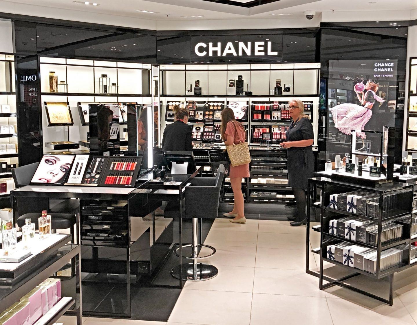 Chanel at Gatwick North Terminal