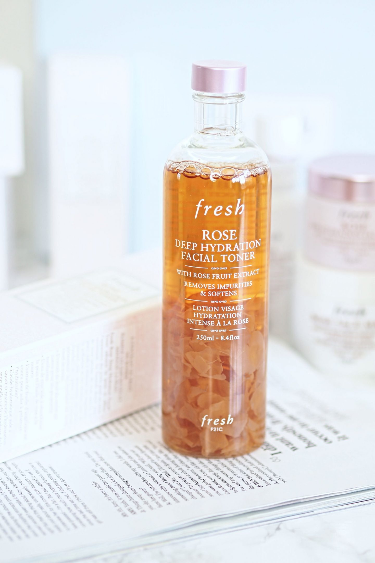 Fresh Rose Deep Hydrating Toner