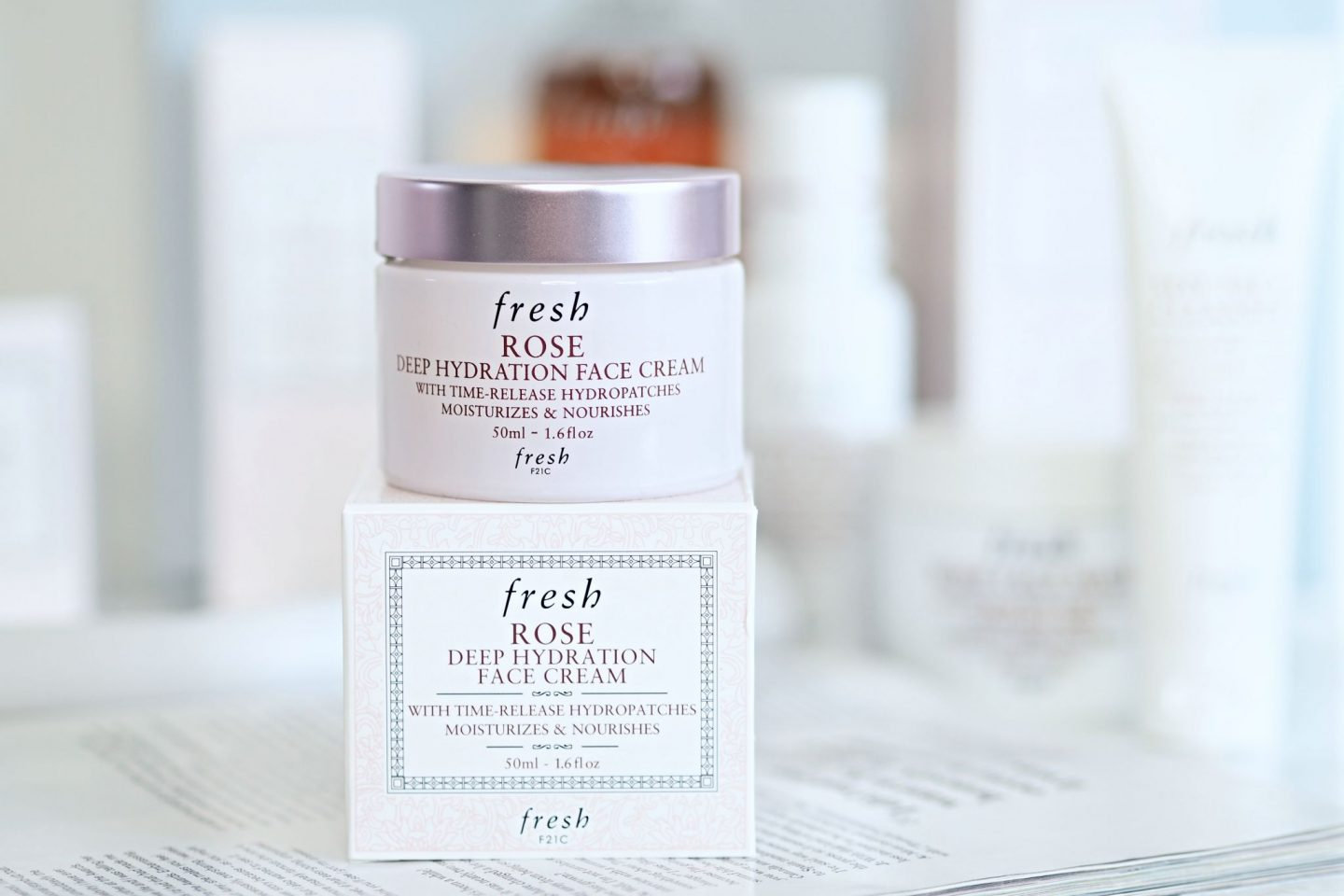 Fresh Rose Deep Hydration Rose Face Cream
