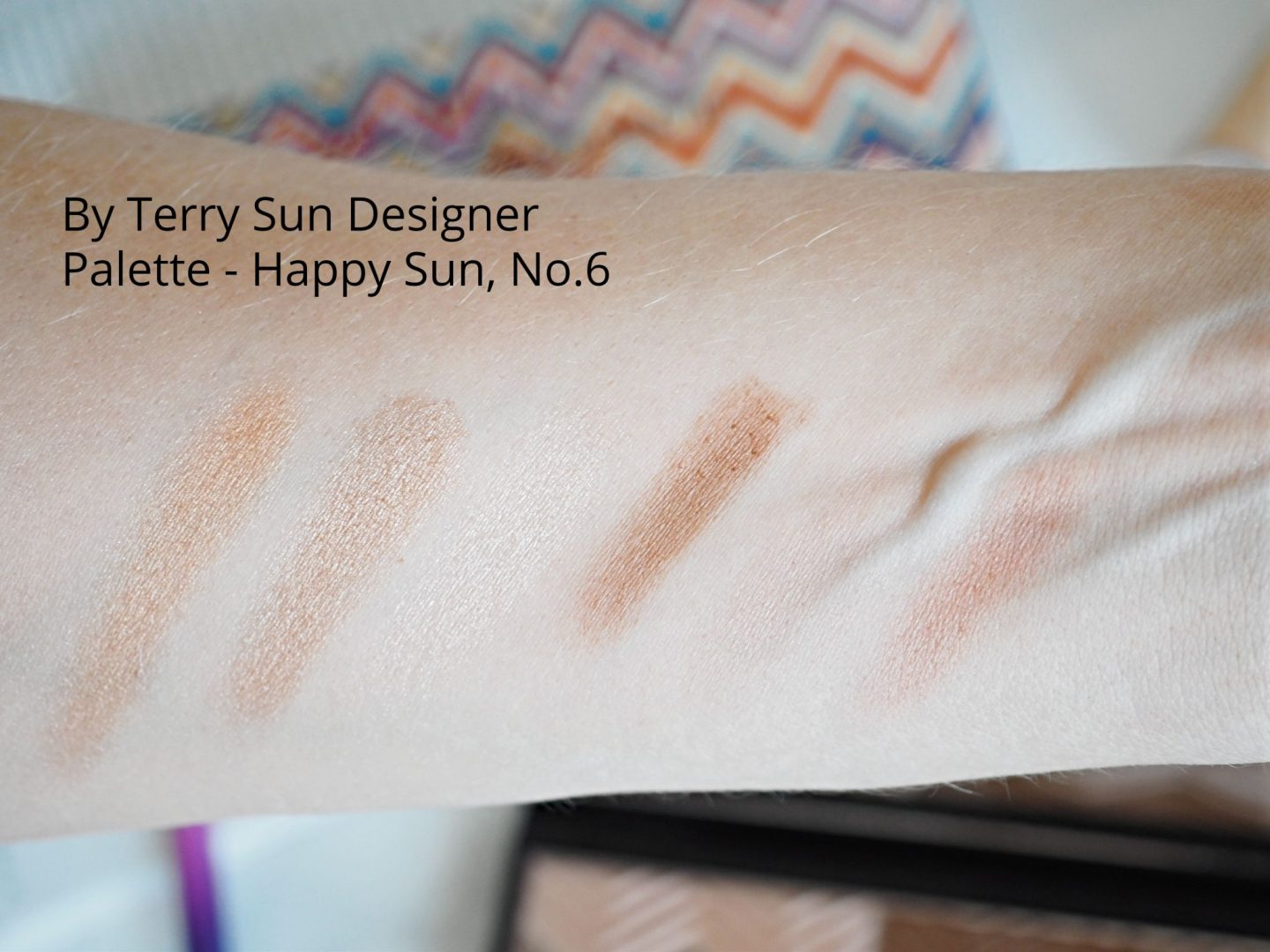 By Terry Sun Designer Palette Happy Sun swatches