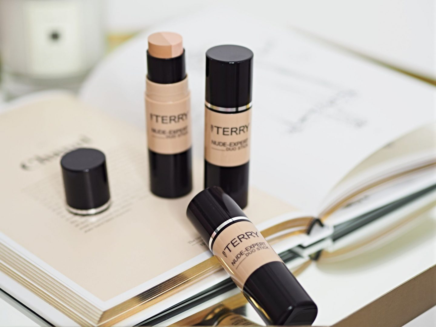 By Terry Nude-Expert Duo stick Foundation Review