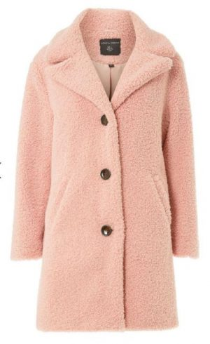 Blush Teddy Bear Coat