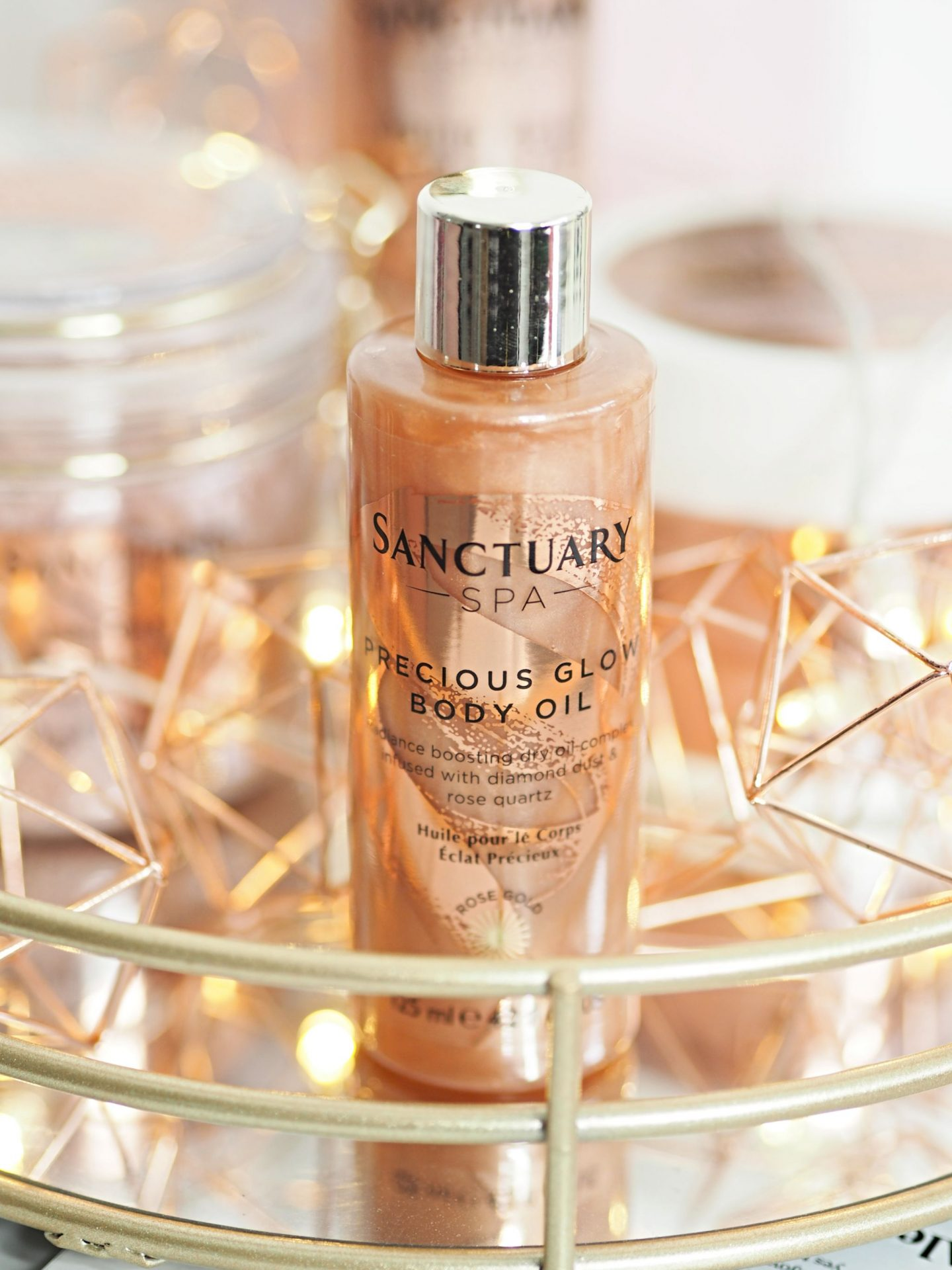 Sanctuary Spa Precious Glow Body Oil