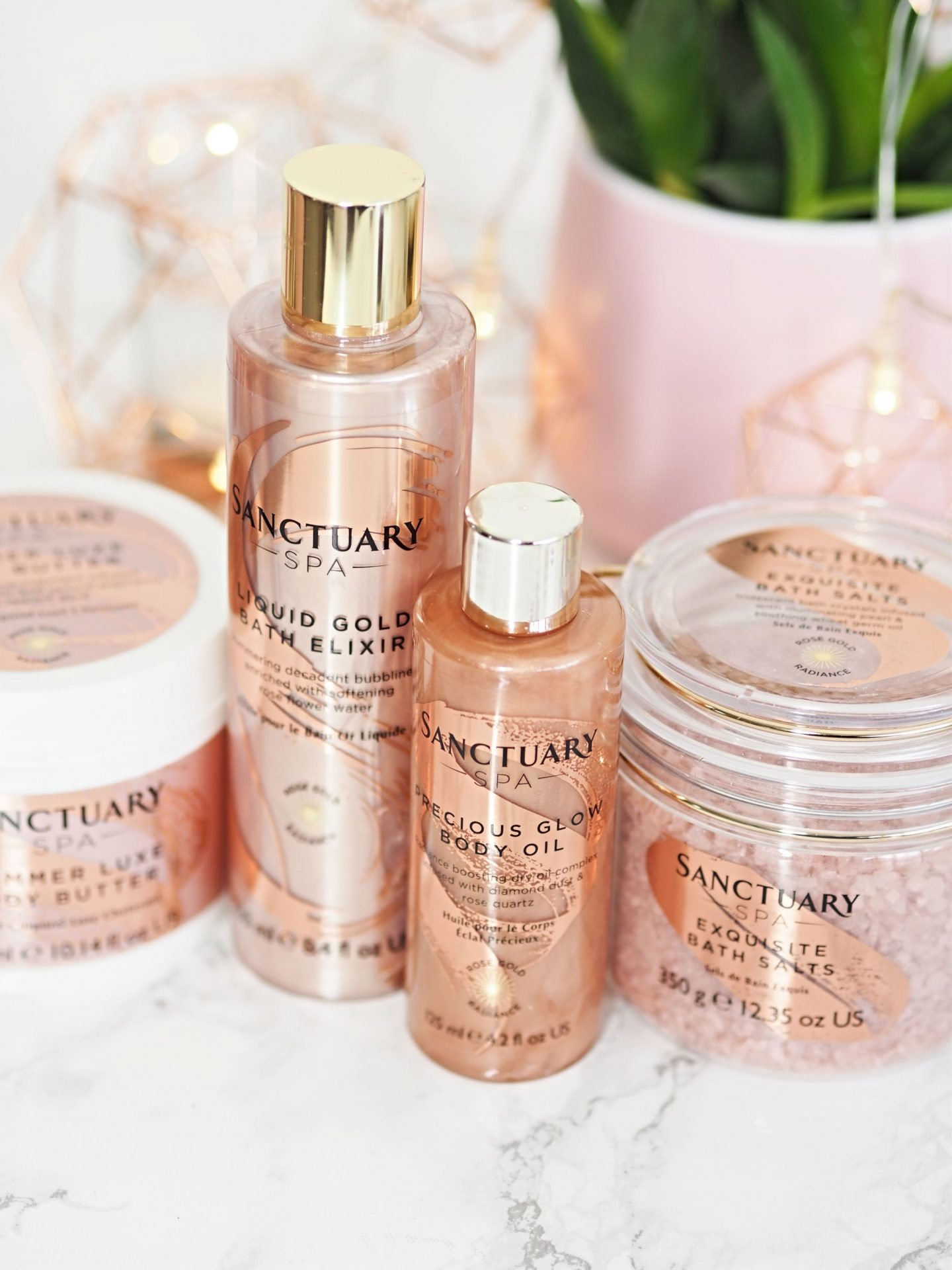 Sanctuary Spa Rose Gold Radiance Range