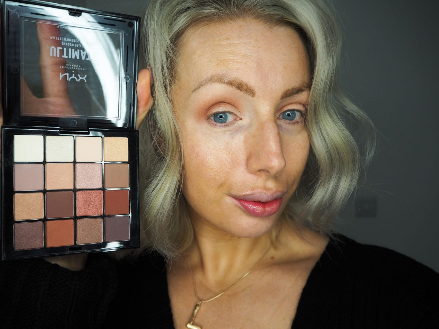 Natural day time and dramatic night time makeup look using NYX Cosmetics from Boots