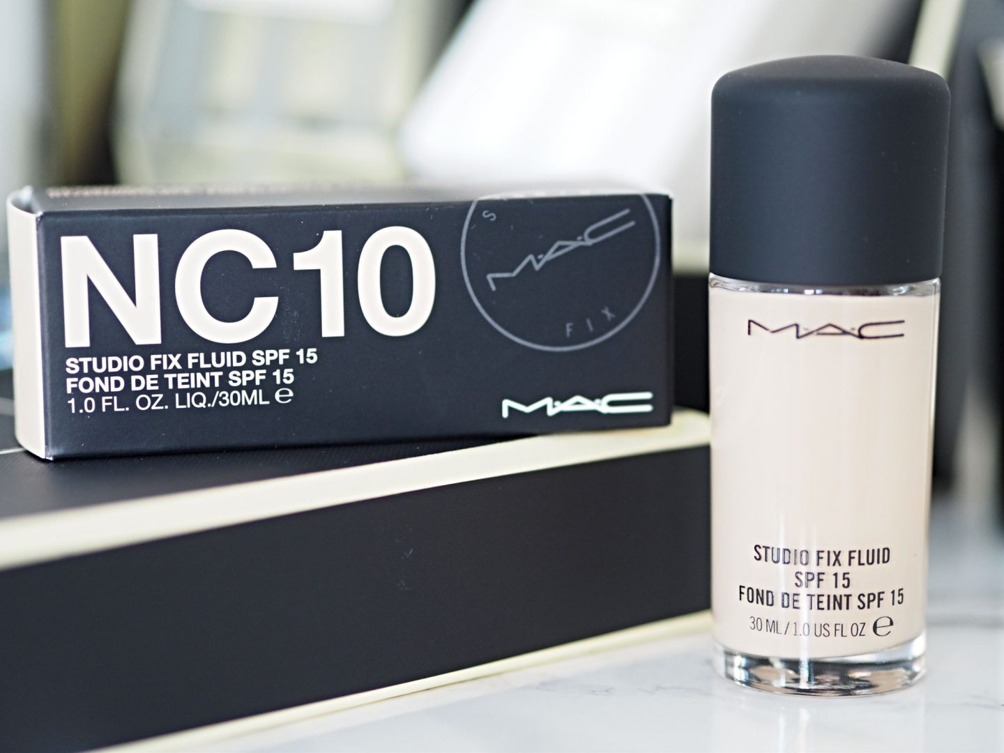 MAC Studio Fix Foundation in shade NC10