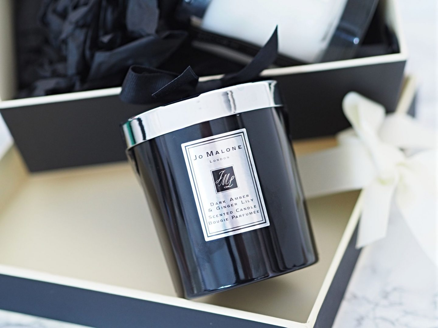 Jo Malone Intense Dark Amber & Ginger Lily Scented Candle