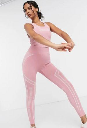 Puma Training seamless sculpt leggings in pink