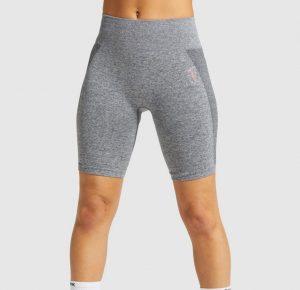 gymshark longer style cycling shorts