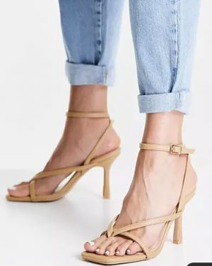 Dorneah strappy sandals in beige